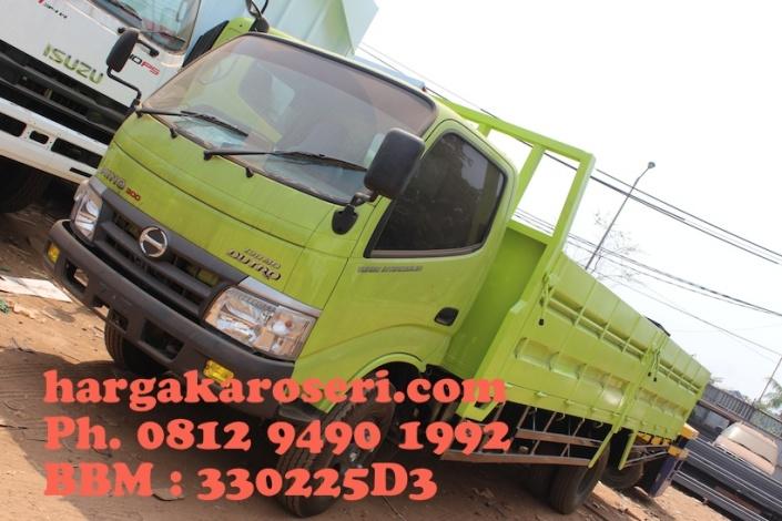 Karoseri bak truk drop side 5 way panjang karoseri 5.00 meter